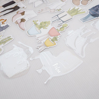 SCANDI VIBES SET OF DIE CUTS-The GP Studio