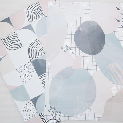 SCANDI VIBES SET OF PAPERS, ACETATE AND VELLUM-The GP Studio