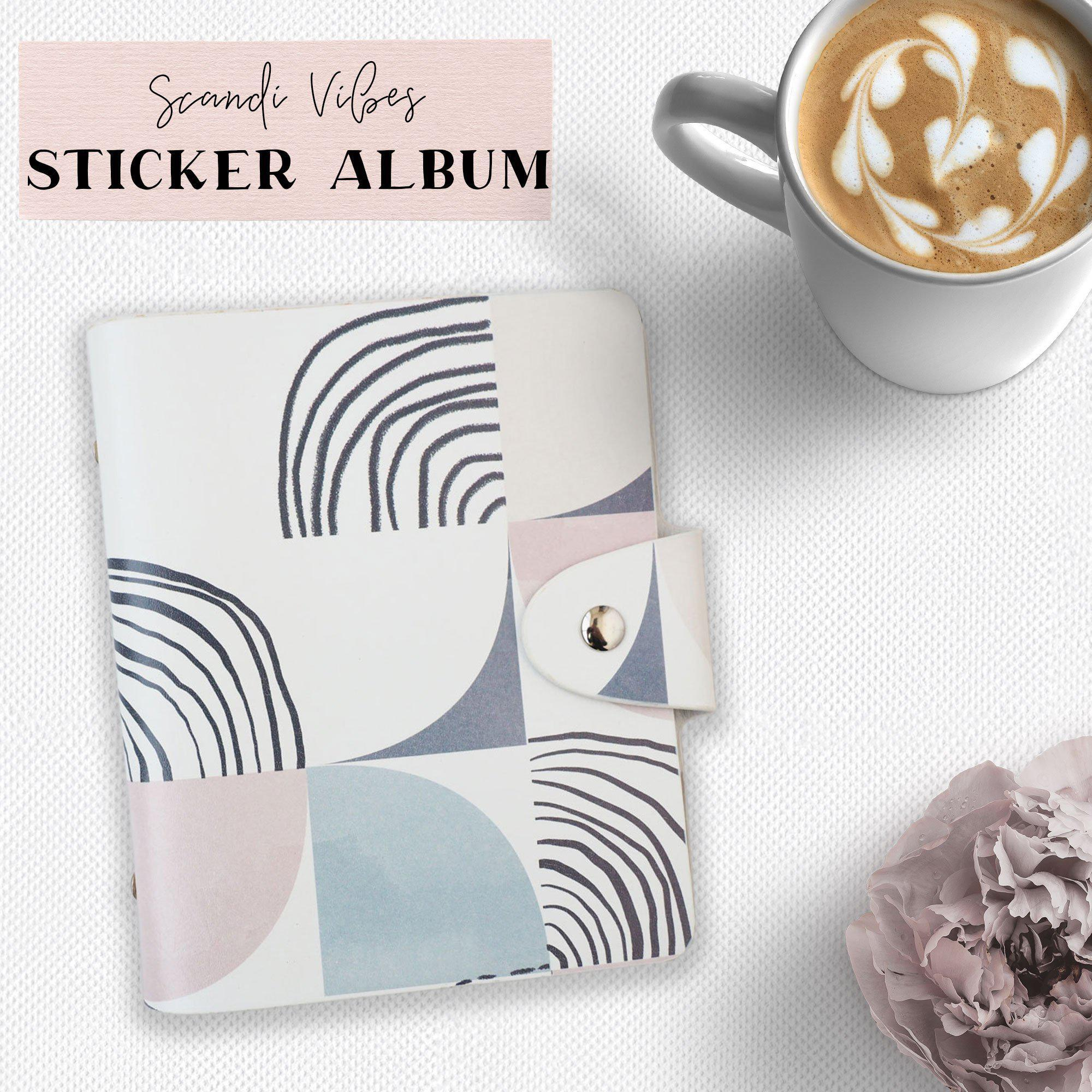 SCANDI VIBES STICKER STORAGE ALBUM-The GP Studio