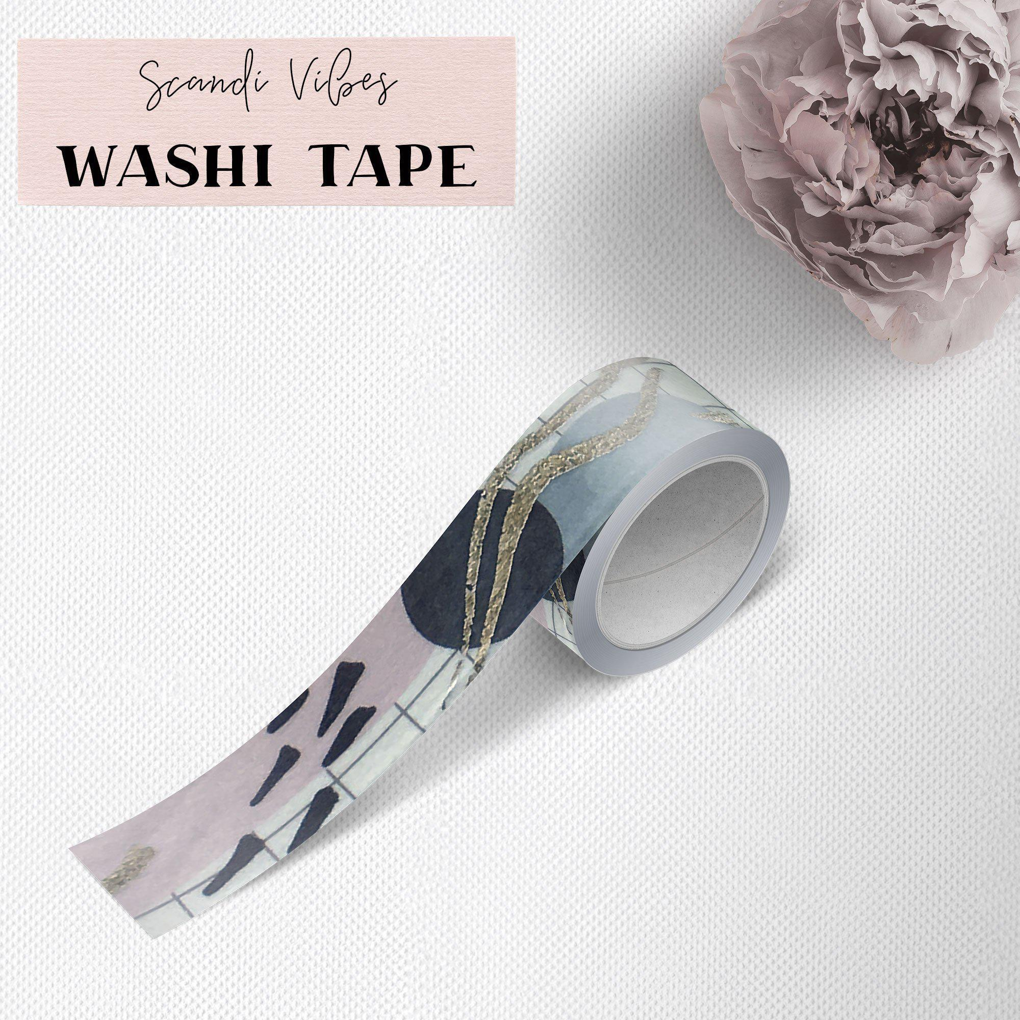 SCANDI VIBES WASHI TAPE-The GP Studio