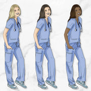 SCRUBS/HEALTH PROFESSIONAL GP Girl Planner Stickers-The GP Studio