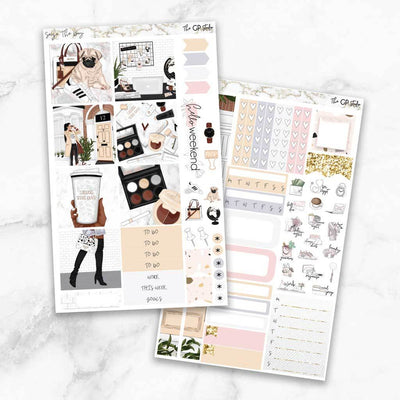 SEIZE THE DAY Mini Size Planner Sticker Kit-The GP Studio
