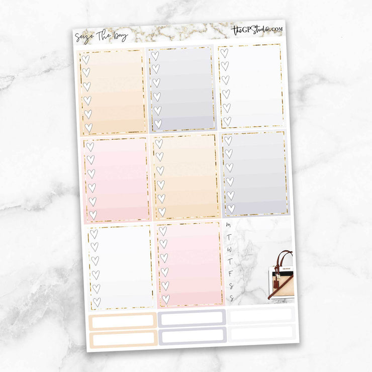 SEIZE THE DAY Planner Sticker Kit-The GP Studio