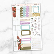 SELF CARE Mini Size Planner Sticker Kit-The GP Studio