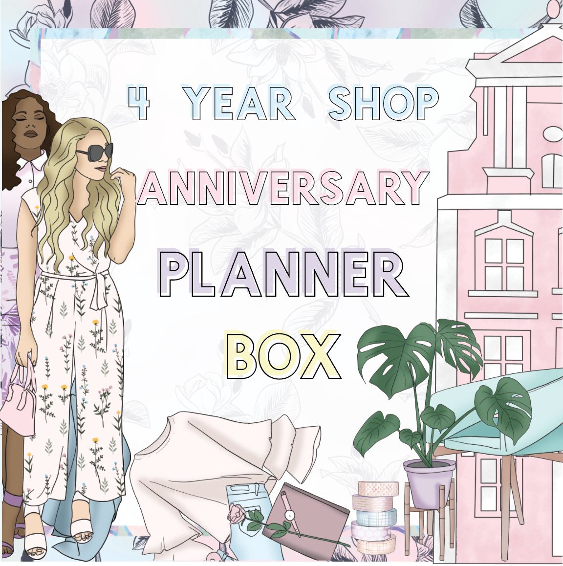 SHOP ANNIVERSARY PLANNER BOX-The GP Studio