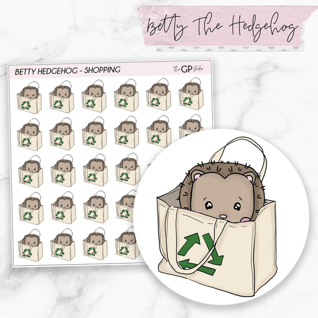 SHOPPING BETTY Planner Stickers-The GP Studio