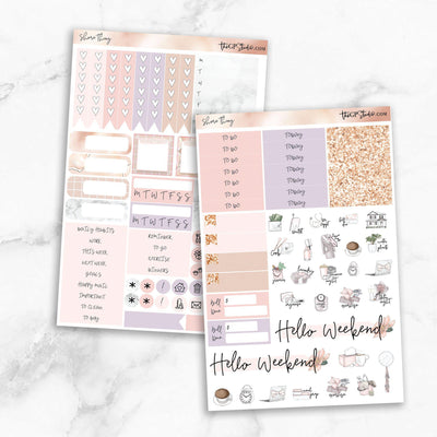 SHORE THING Functional Planner Sticker Kit-The GP Studio