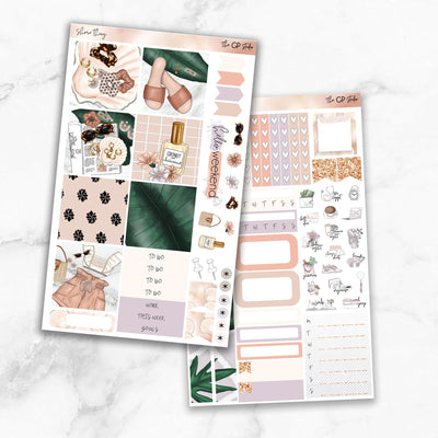 SHORE THING Mini Size Planner Sticker Kit-The GP Studio