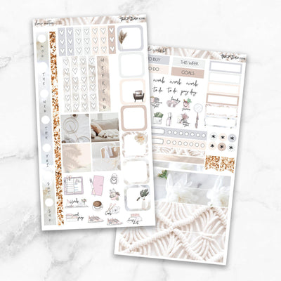 SLOW MOTION Hobonichi Weekly Size Planner Sticker Kit-The GP Studio