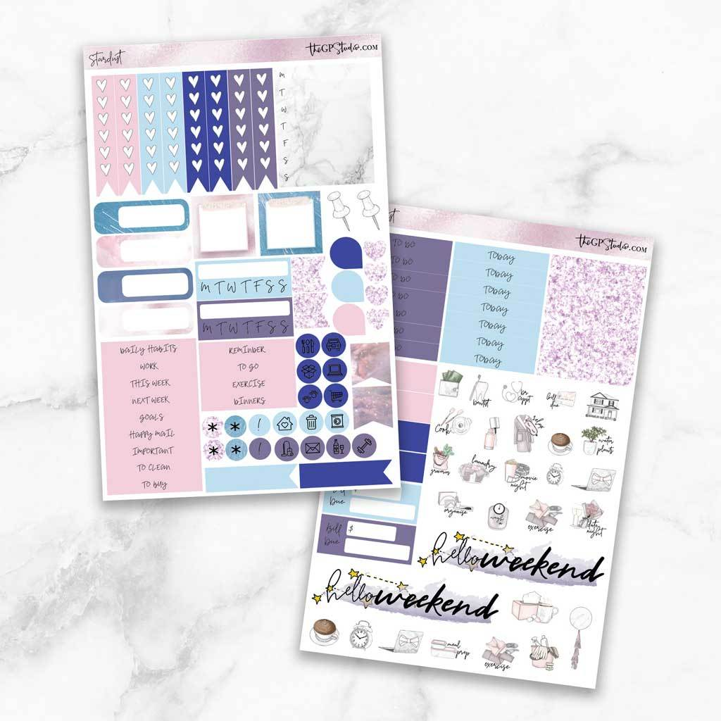 STARDUST Functional Planner Sticker Kit-The GP Studio