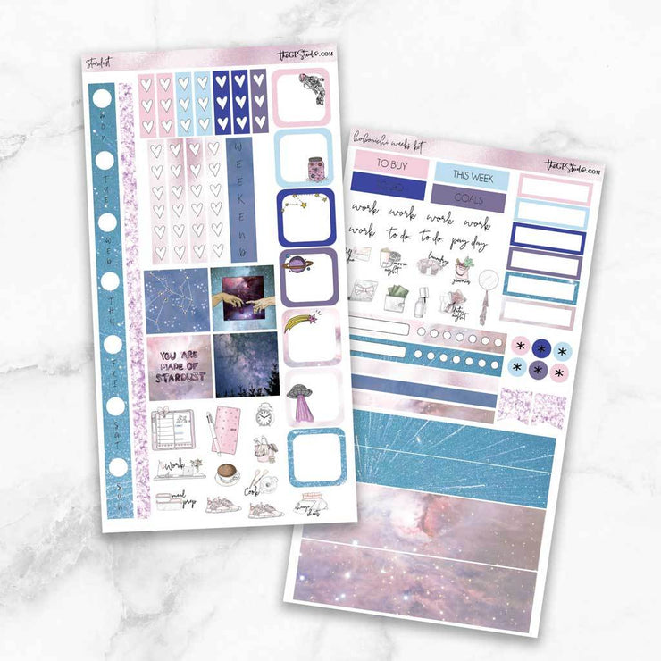 STARDUST Hobonichi Weekly Size Planner Sticker Kit-The GP Studio
