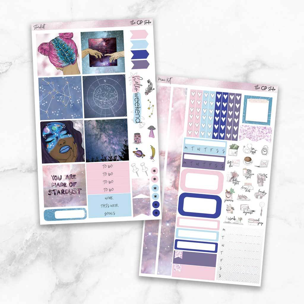 STARDUST Mini Size Planner Sticker Kit-The GP Studio