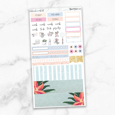 STAYCATION Hobonichi Weekly Size Planner Sticker Kit-The GP Studio