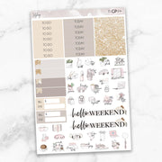 STYLING Functional Planner Sticker Kit-The GP Studio