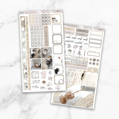 STYLING Hobonichi Weekly Size Planner Sticker Kit-The GP Studio