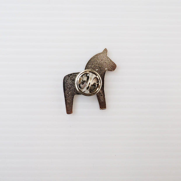 SWEDISH DALA HORSE ENAMEL PIN-The GP Studio