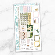 TROPICAL Hobonichi Weekly Size Planner Sticker Kit-The GP Studio
