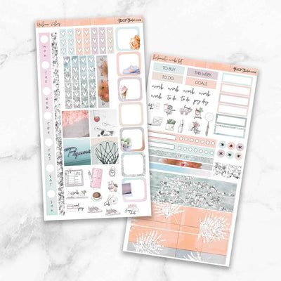 URBAN VIBES Hobonichi Weekly Size Planner Sticker Kit-The GP Studio