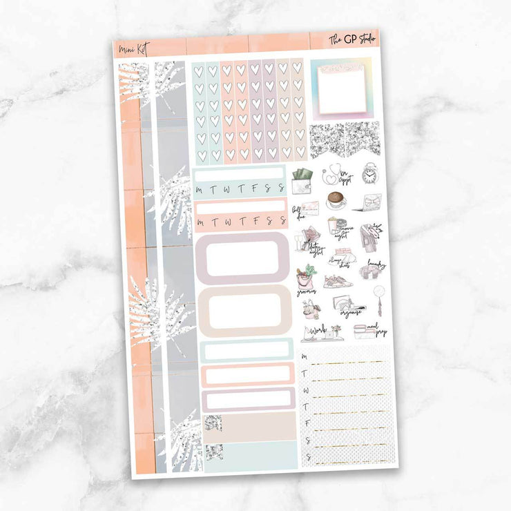 URBAN VIBES Mini Size Planner Sticker Kit-The GP Studio