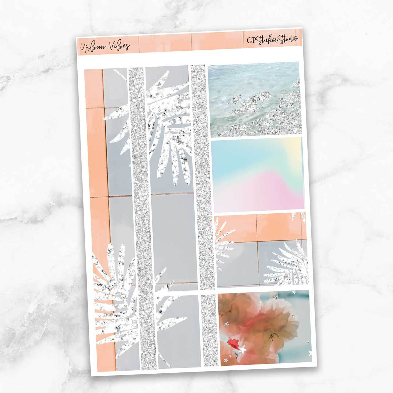 URBAN VIBES Washi Sheet Stickers-The GP Studio