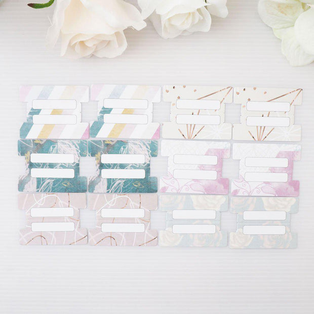 VINTAGE LOVE DIVIDER TABS-The GP Studio