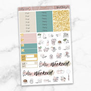 VINTAGE LOVE Functional Planner Sticker Kit-The GP Studio