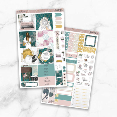 VINTAGE LOVE Mini Size Planner Sticker Kit-The GP Studio