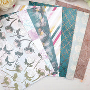 VINTAGE LOVE SET OF PAPERS, ACETATE AND VELLUM-The GP Studio