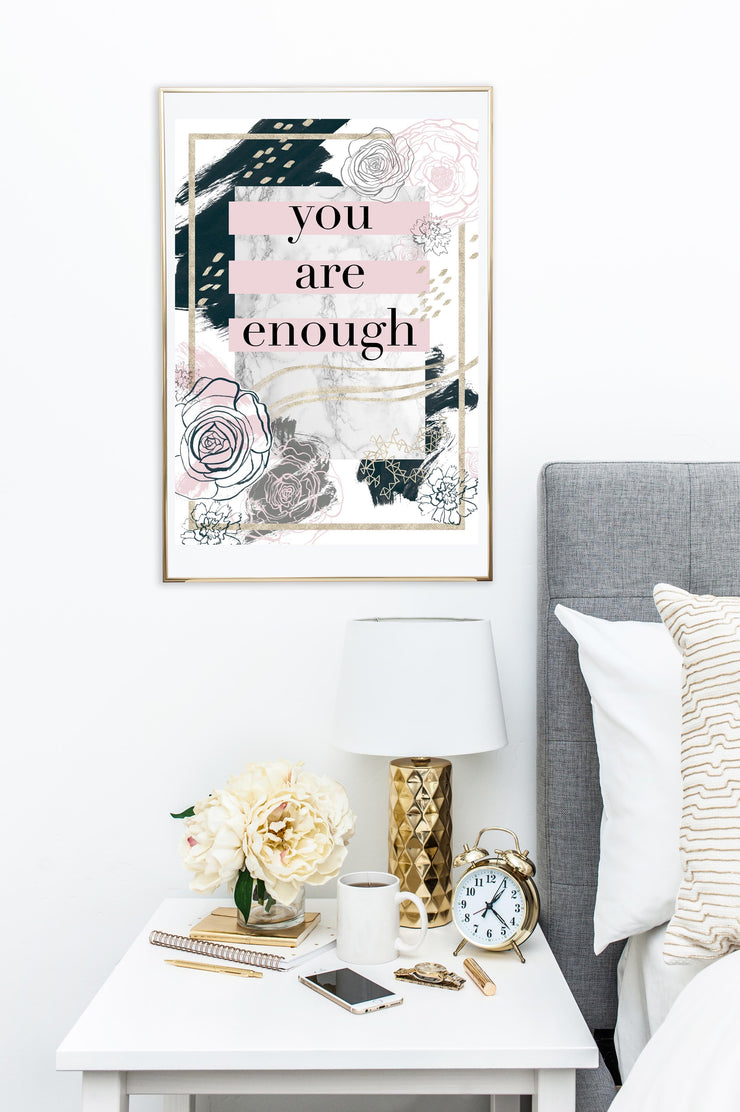 "WALL ART - ""GOOD ENOUGH""-The GP Studio"