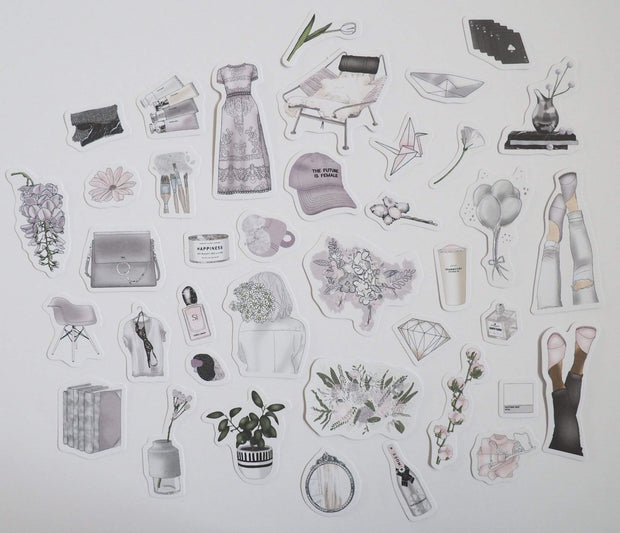 WHIMSICAL SET OF DIE CUTS-The GP Studio