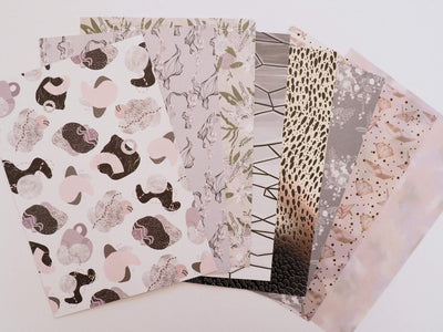WHIMSICAL SET OF PAPERS, ACETATE AND VELLUM-The GP Studio