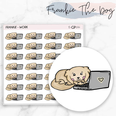 WORK FRANKIE Planner Stickers-The GP Studio