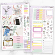 WORK FROM HOME Mini Size Planner Sticker Kit-The GP Studio