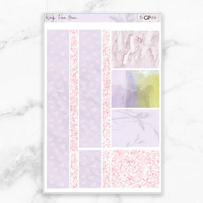 WORK FROM HOME Washi Sheet Stickers-The GP Studio