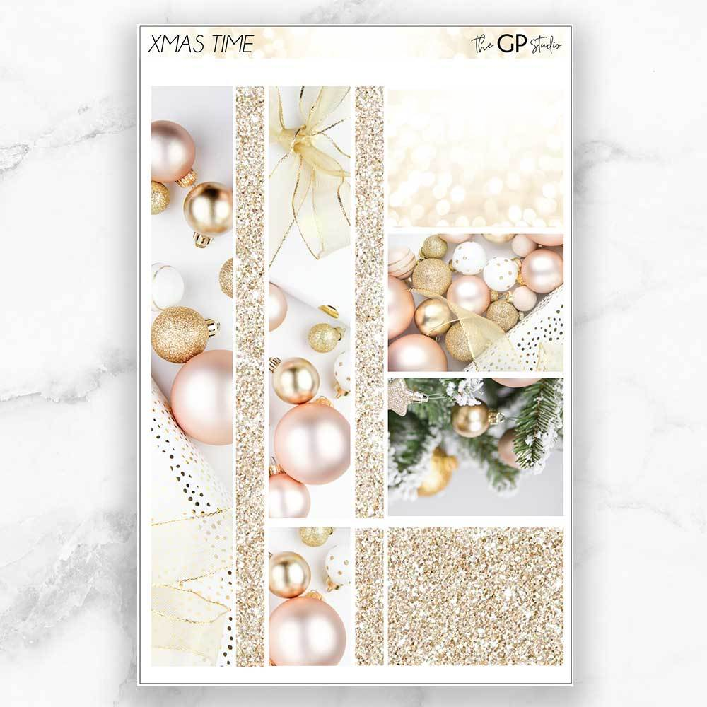 XMAS TIME Washi Sheet Stickers-The GP Studio