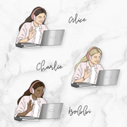 ZOOM GP Girl Planner Stickers-The GP Studio