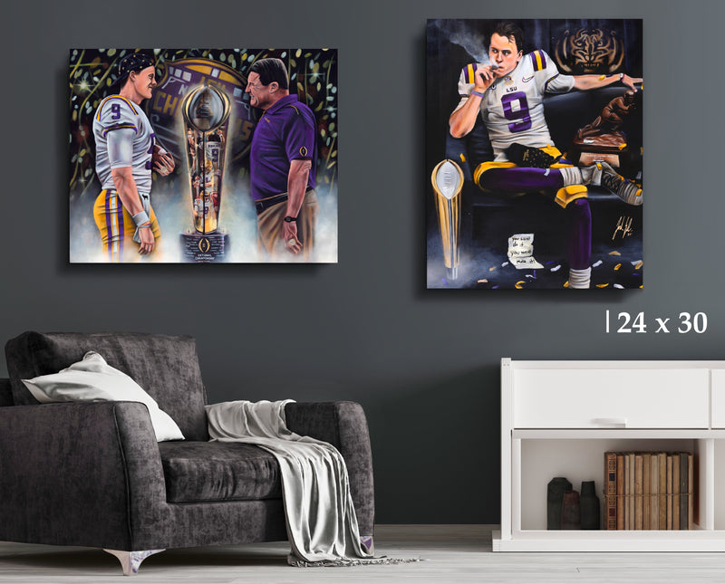 Burreaux Bundle - Canvas Collection - Spector Sports Art
