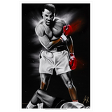 The Great Ali Art Print - Spector Sports Art