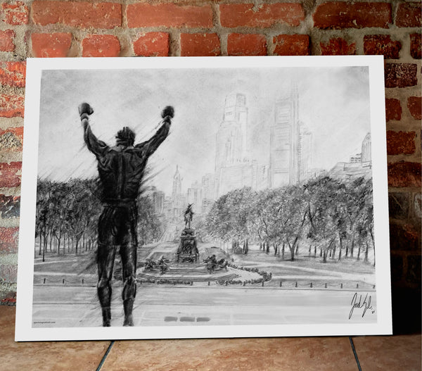 "Rocky ""Philly Strong"" - Spector Sports Art"