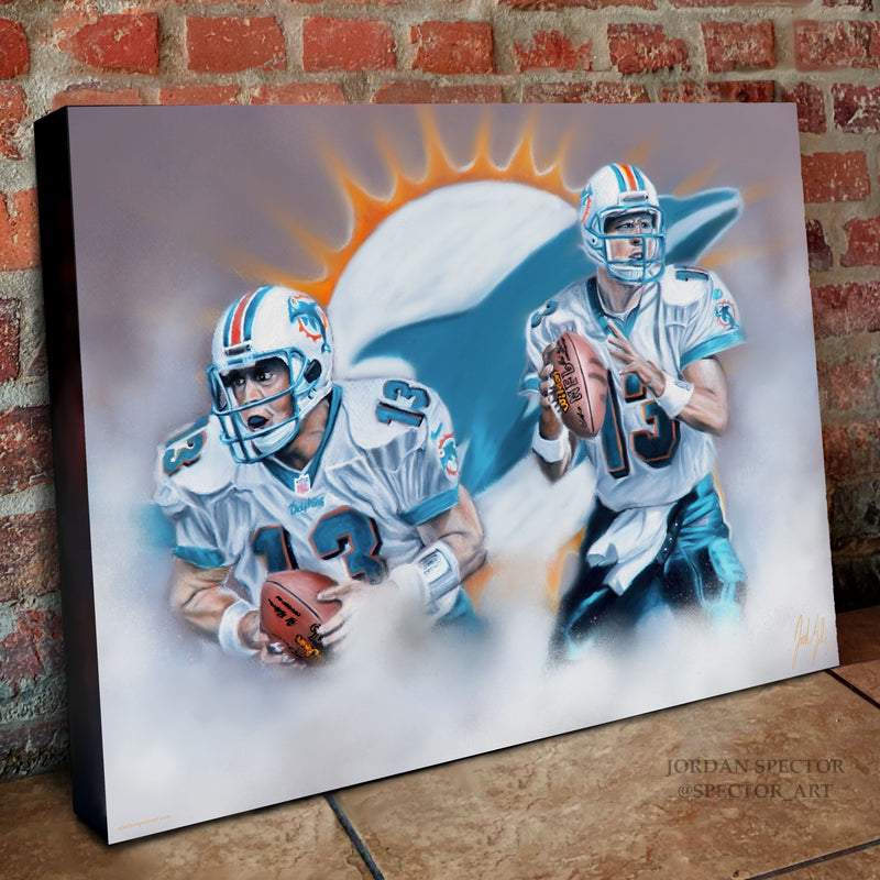 "Dan Marino ""Dolphins Legend"" - Spector Sports Art"
