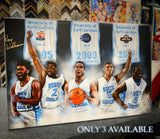 "Hand Signed Roy Williams UNC ""Point Guard Dynasty"" Canvas - Spector Sports Art -"