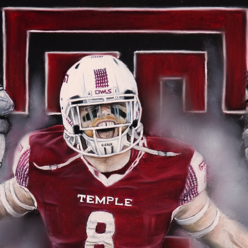 "Tyler Matakevich ""All American"" - Spector Sports Art"