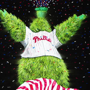 "Phillies ""Phanatic"" Art Print - Spector Art"