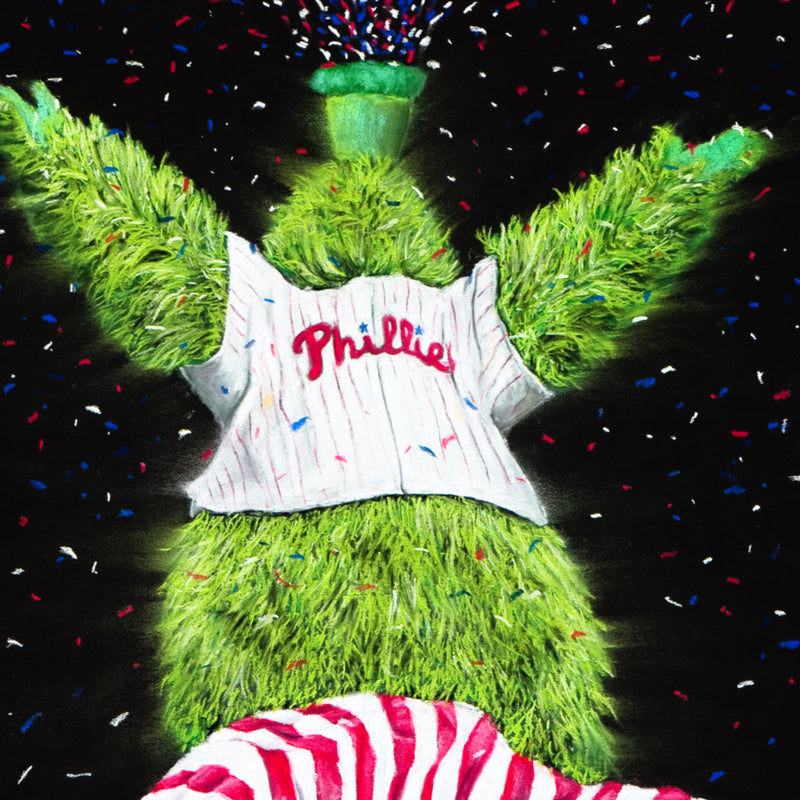 "Phillies ""Phanatic"" Art Print"