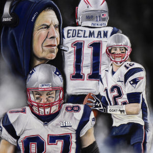 "Patriots ""The Dynasty"" - Spector Art"