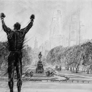 "Rocky ""Philly Strong"" - Spector Art"