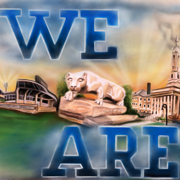 "Penn State ""We Are"" - Spector Sports Art"