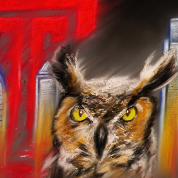 "Temple Owls ""Stella"" - Spector Sports Art"