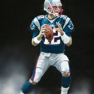 "Tom Brady ""GOAT"" - Spector Art"