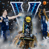 Villanova 2016 National Champions - Spector Sports Art
